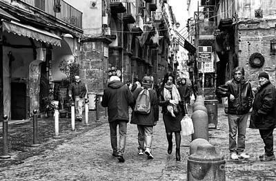 Navigating Naples Poster by John Rizzuto