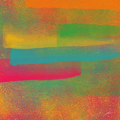Nebulosa De Cores Poster by Diretorio do Design