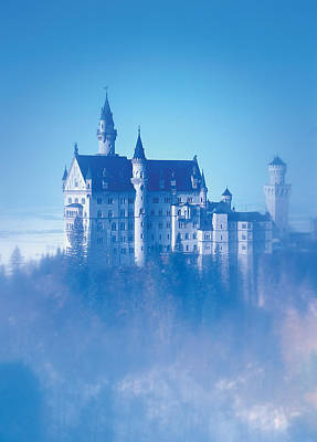 Neuschwanstein Castle Poster by Bekare Creative