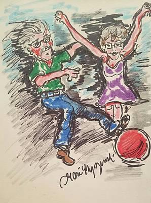 Never Grow Up Poster by Geraldine Myszenski