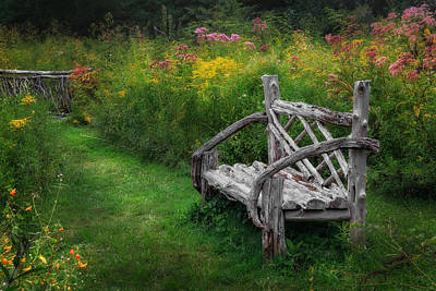 New England Summer Rustic Poster by Bill Wakeley