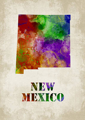 New Mexico Poster by Mihaela Pater