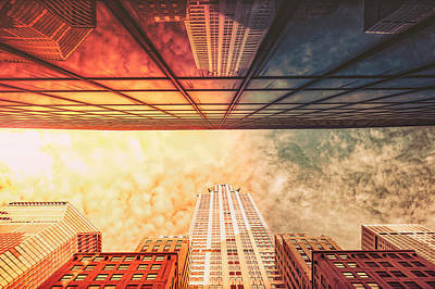 New York City - Chrysler Building Poster by Vivienne Gucwa