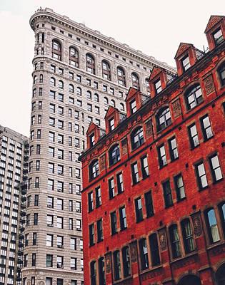 New York City - Flatiron Building Poster by Vivienne Gucwa