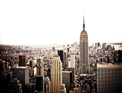 New York City Skyline Poster by Vivienne Gucwa