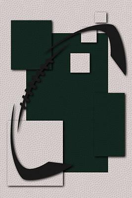 New York Jets Football Art Poster by Joe Hamilton