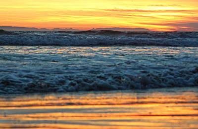 Newport Beach Sunset 1 Poster by Habib Ayat