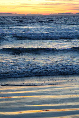 Newport Beach Sunset 2 Poster by Habib Ayat