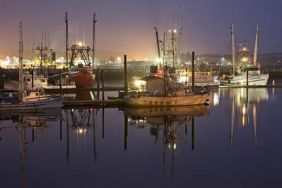 Newport Boats Poster by Jon Glaser