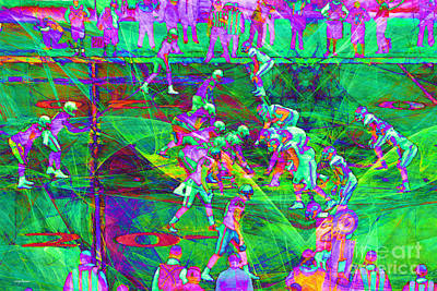 Nfl Football Red Zone Dsc3941 20151215 P88 Poster by Wingsdomain Art and Photography