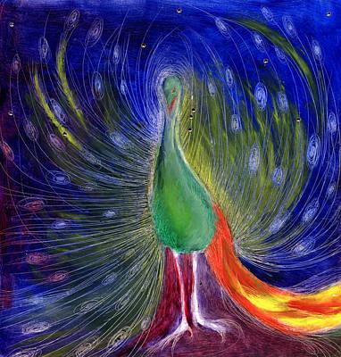 Night Of Light Poster by Nancy Moniz