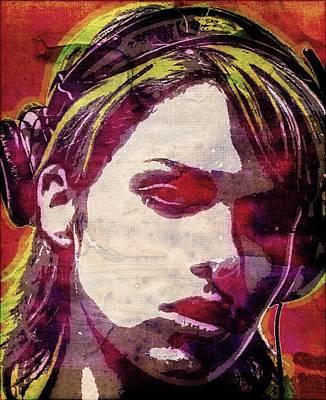 Niki Belucci Poster by Otis Porritt
