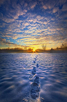 No Matter Where I Am You Will Always Be With Me Poster by Phil Koch