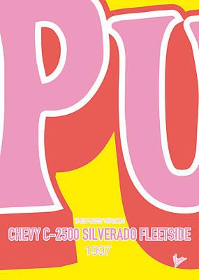 No013 My Kill Bill Minimal Movie Car Poster Poster by Chungkong Art