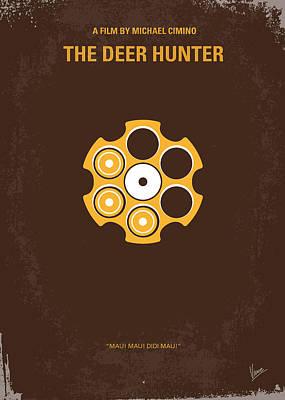 No019 My Deerhunter Minimal Movie Poster Poster by Chungkong Art