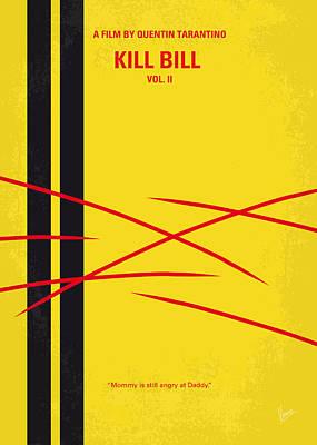 No049 My Kill Bill-part2 Minimal Movie Poster Poster by Chungkong Art