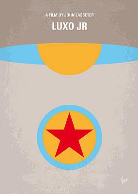 No171 My Luxo Jr Minimal Movie Poster Poster by Chungkong Art