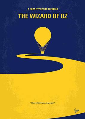 No177 My Wizard Of Oz Minimal Movie Poster Poster by Chungkong Art