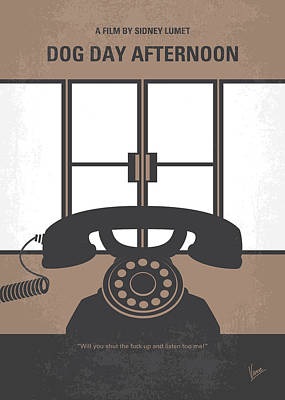 No479 My Dog Day Afternoon Minimal Movie Poster Poster by Chungkong Art