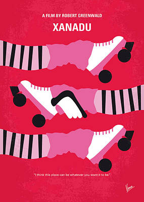 No516 My Xanadu Minimal Movie Poster Poster by Chungkong Art