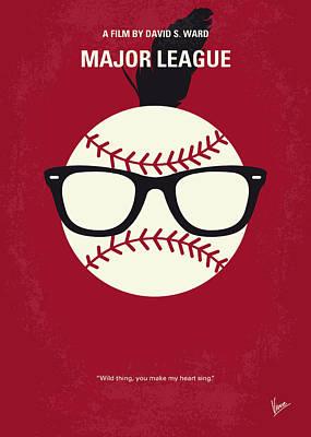 No541 My Major League Minimal Movie Poster Poster by Chungkong Art