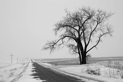 North Dakota Scenic Highway Poster by Bob Mintie