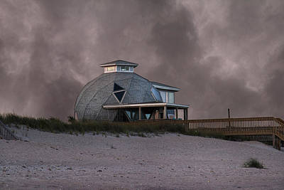 North Topsail Beach Dome Poster by Betsy Knapp