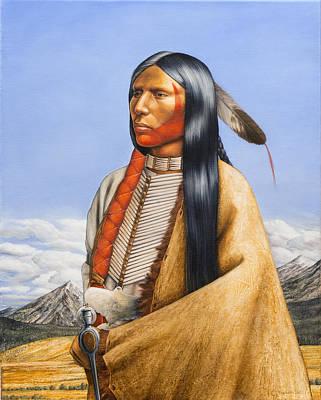 Northern Cheyenne 1860 Poster by Milos Englberth