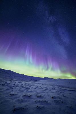 Northern Light Poster by Tor-Ivar Naess