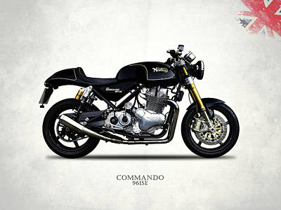 Norton Commando 961se Poster by Mark Rogan