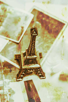 Nostalgic Mementos Of A Paris Trip Poster by Jorgo Photography - Wall Art Gallery