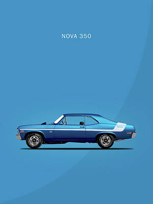 Nova Yenko Deuce 1970 Poster by Mark Rogan