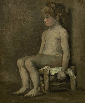 Nude Girl, Seated Poster by Vincent van Gogh