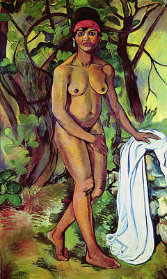 Nude Poster by Marie Clementine Valdon