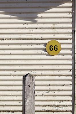 Number 66 Poster by Linda Lees