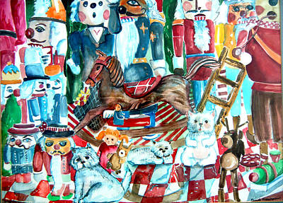 Nutcracker Suite Poster by Mindy Newman