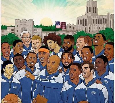 Ny Knicks Poster by Eleni Salony