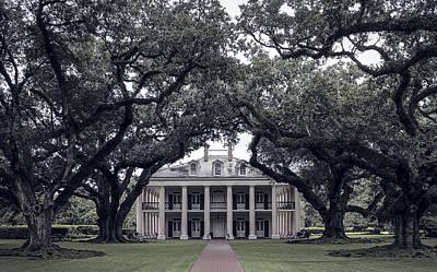 Oak Alley Plantation - Louisiana Poster by Daniel Hagerman