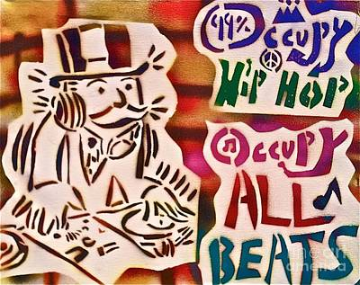 Occupy All Beats Poster by Tony B Conscious