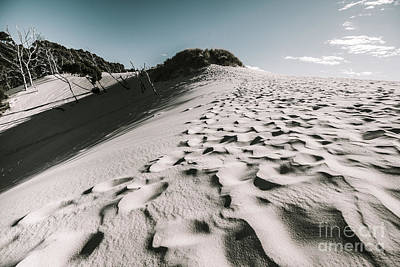 Ocean Beach Desert In Tasmania Poster by Jorgo Photography - Wall Art Gallery