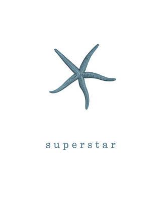 Ocean Quotes Superstar Poster by Erin Cadigan