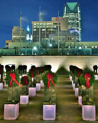 Okc Bombing Memorial Poster by Frozen in Time Fine Art Photography