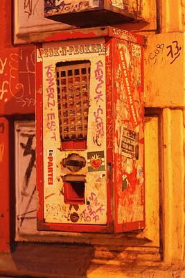 Old Chewing Gum Machine Poster by Torsten Krueger