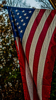 Old Glory Hdr Poster by Keegan Hall