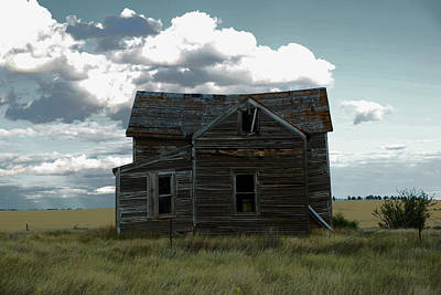 Old Home On The Range Poster by Jeff Swan