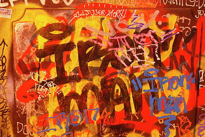 Old House Wall With Graffiti Poster by Torsten Krueger