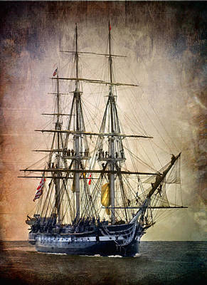 Old Ironsides Poster by Fred LeBlanc