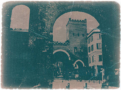 Old Milan Poster by Naxart Studio
