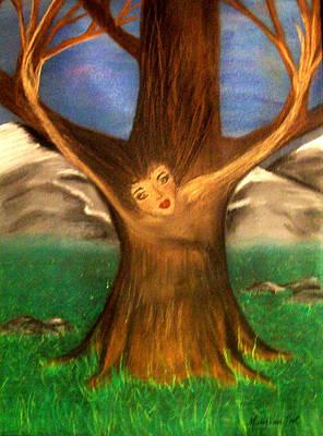 Old Oak Tree Poster by Misty VanPool