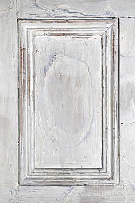 Vintage Wooden Door Panel Poster by Elena Elisseeva